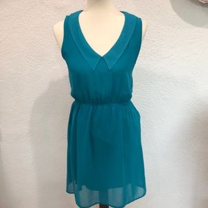 Tank dress with collar. So cute in too.
